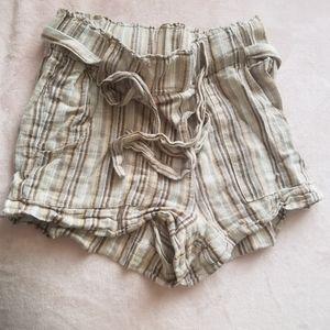 Stripped gurls shorts